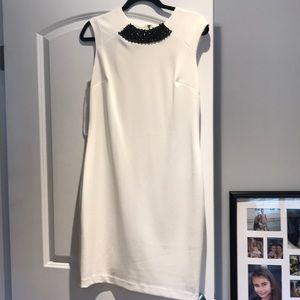 Bejeweled Karl Lagerfeld Shift dress